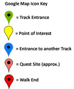 Google map icon key