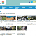 Auckland City Council Tracks Webpage