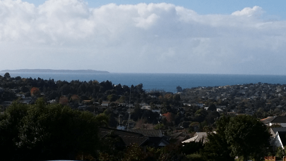 Fitzwilliam view of Hauraki Gulf