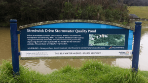 Stredwick Stormwater Sign