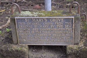 St Marys Church Torbay Memorial Plaque